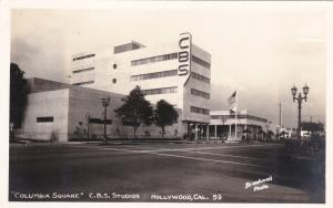 RP: HOLLYWOOD , California , 30-40s ;  Columbia Square C.B.S. Studios