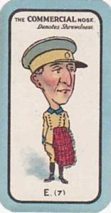 Carreras Small Vintage Cigarette Card The Nose Game No E7 The Commercial Nose...