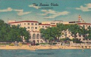 Mississippi Biloxi Buena Vista Hotel 1951