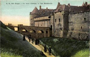 CPA DIEPPE-Le vieux Chateau Les Machicoulis (347341)
