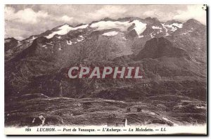 Postcard Luchon Old Port of Venasque Auberge La Maladetta