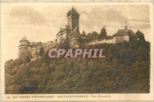 Old Postcard Vosges Picturesque Hochkönigsburg Overview