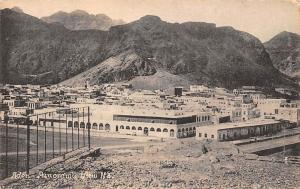Yemen Aden Panoramic View 1926