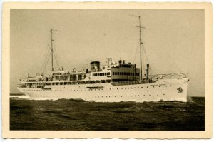 Compagnia Adriatica Di Navigazione - SS Francesco Morosini