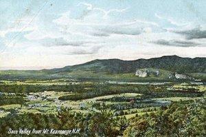 NH - North Conway,  Saco Valley from Mt. Kearsarge