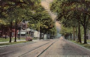 BATTLE CREEK , Michigan, 1912 ; Maple Street