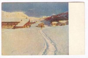 Cesare Maggi, Italy, 00-10s   A S. Mauro in una sera d'inverno