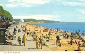 Vintage Dorset Postcard, Avon Beach, Mudeford FO3