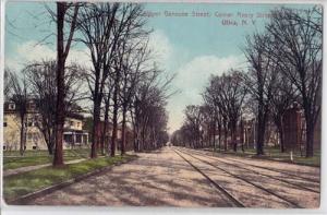 Upper Genesee St. Corner Avery St. Utica NY