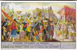 Liebig Trade Card S1518 Foreign Princesses In Belgium No 4 L'Archiduchesse-In...