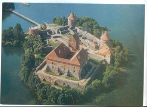 Lithuania, Traku pilis, Tarakai Castle, 1978 unused Postcard
