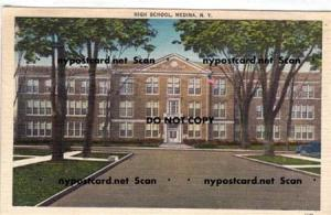 High School, Medina NY