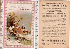Foster, Hinman & Co. Clothers