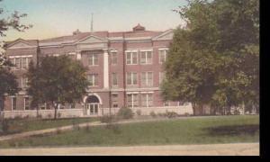 Nebraska Wayne Administration Building  State Teachers College Albertype