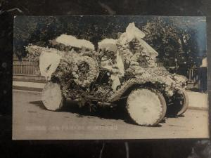 Mint USA Real Picture Postcard Motor Car Parade Portland Oregon Rose Festival