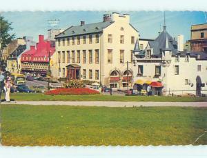 Pre-1980 TOWN VIEW SCENE Quebec City QC p9928