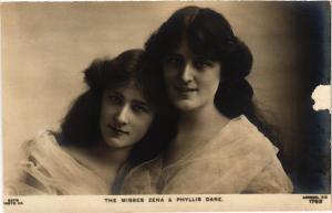 CPA The Misses Zena & Phyllis Dare, THEATER STAR (716364)