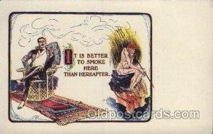 Puzzle Card, Philadelphia, USA Devil, Krampus Unused very light hard to see c...