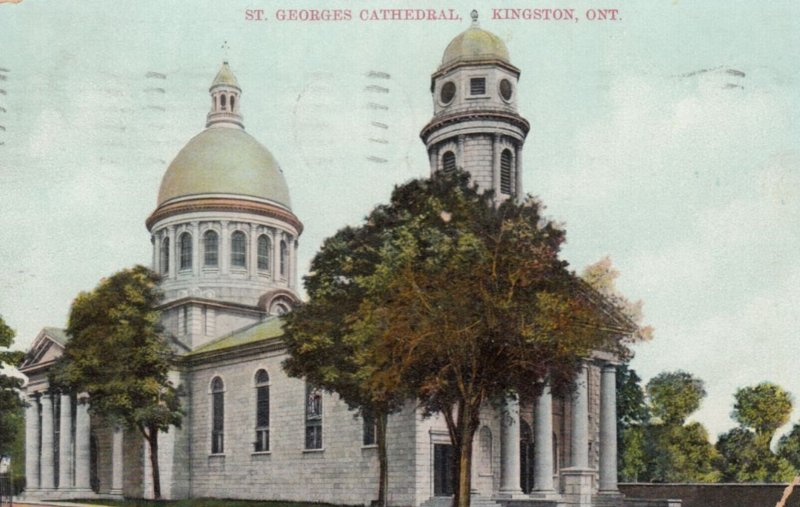 KINGSTON , Ontario , PU-1908 ; St Georges Cathedral