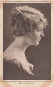 Enid Bennett Silent Movie WW1 Actress Antique Postcard