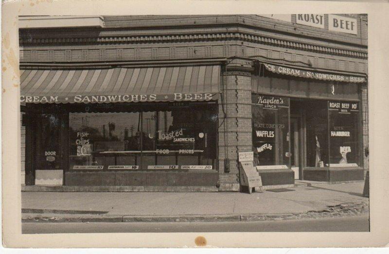 RP: Hayden's Restaurant, 1900-10s
