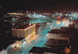 Night View, NANAIMO, British Columbia, Canada, 50-70's
