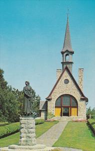 Historic Evangeline Memorial Church & Statue of Evangeline,Grand Pre National...