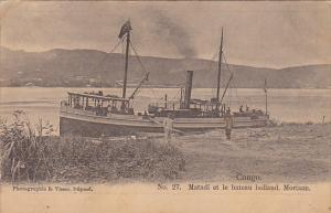 Congo Matadi et le bateau holland Moriaan