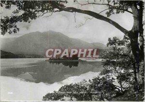 Modern Postcard Loch Achbay Trossachs and Ben Venue
