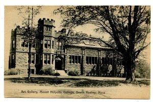 MA - South Hadley. Mt Holyoke College, Art Gallery
