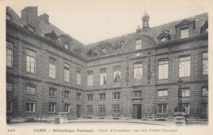 PARIS,France,1900-1910s, Bibliotheque Nationale - Cour d'honneur Rue Des Peti...