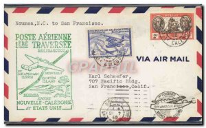 Letter 1 flight New Caledonia San Francisco July 21, 1940