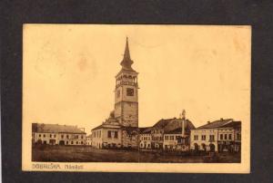 Dobruska Namesti Hradec Králové Region Czech Republic Czechoslovakia