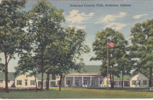 Indiana Anderson The Anderson Country Club Curteich sk1379