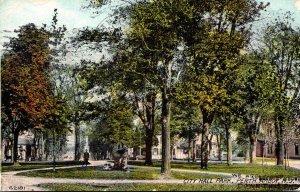New Jersey Perth Amboy City Hall Park 1911