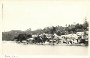 dutch new guinea, FAKFAK FAK-FAK, Native Houses (1950s) RPPC