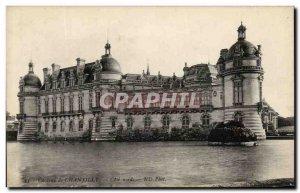 Old Postcard Chateau de Chantilly North Coast