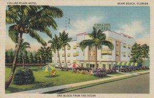 MIAMI BEACH , Florida , 1946 ; Collins Plaza Hotel