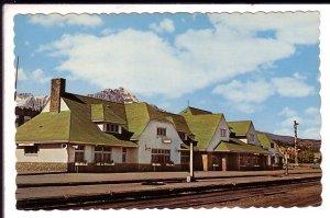 Canadian National Railway Train Station Jasper National Park, Alberta,
