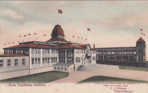 ST. JOHN, New Brunswick, Canada, 1906; Main Exhibition Building