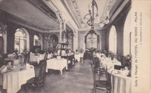 Italy Milano Salle a Manger Dining Room l'Hotel du Nord