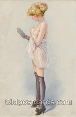 Artist Maurice Milliere (France) Series 37-6 Unused light tab markings from b...