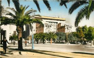 Morocco Maroc Fes Fez Lyautey Square Urbaine Building