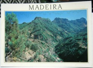 Portugal Madeira Inland Mountains - unposted damaged