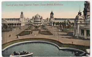 Japan British Exhibition 1910; Court Of Arts From Imperial Tower Official PPC