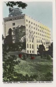 RP: NANAIMO , B.C. , Canada , 1930-40s ; Malaspina Hotel