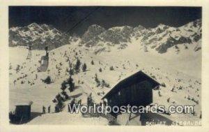 Skilift, Real Photo Seegrube Austria 1905