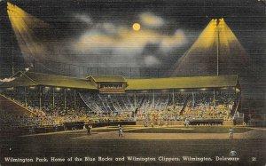 LP38    Baseball Stadium Wilmington Delaware  Postcard