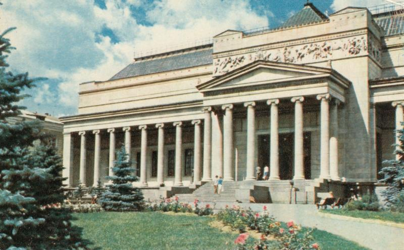 Moscow , Russia , 50-60s ; Pushkin Museum of Fine Arts