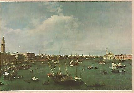 POSTAL 17848: CANALETTO